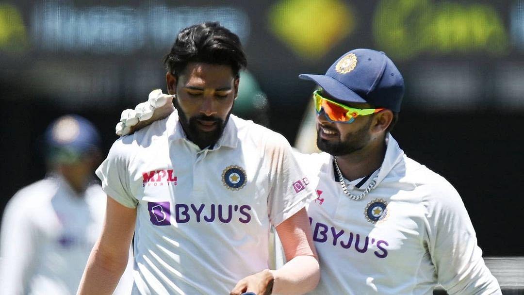 Ind vs Aus : ब्रिसबेन के हीरो Rishabh Pant ने धौनी से तुलना पर कही ये बात...