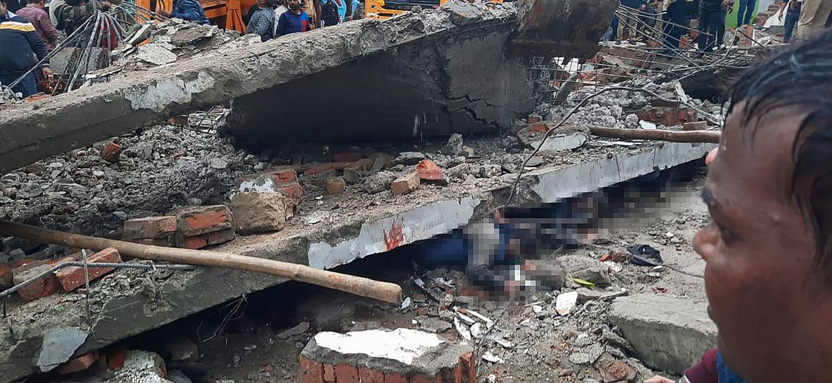 गाजियाबाद के मुरादनगर में श्मशान घाट पर छत ढहने से 23 लोगों की मौत, 15 घायल
