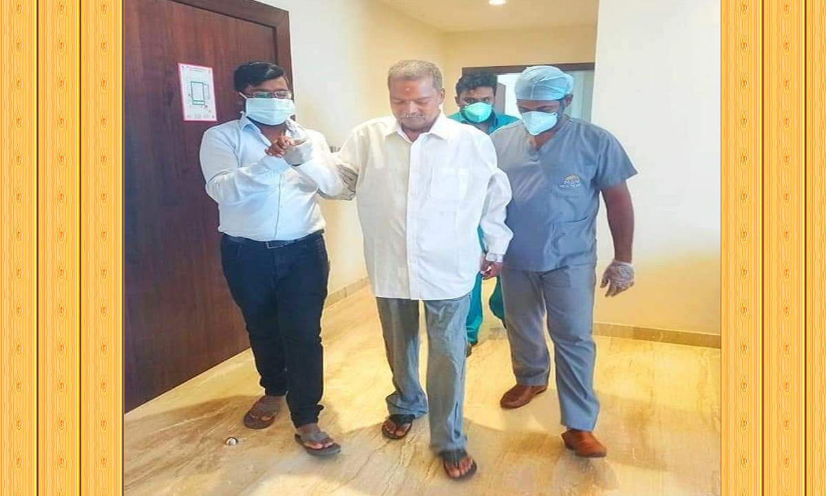 Jagarnath Mahto Health Update : MGM हॉस्पिटल परिसर में टहलते दिखें शिक्षा मंत्री जगरनाथ महतो, फरवरी में झारखंड लौटने की बढ़ी संभावना