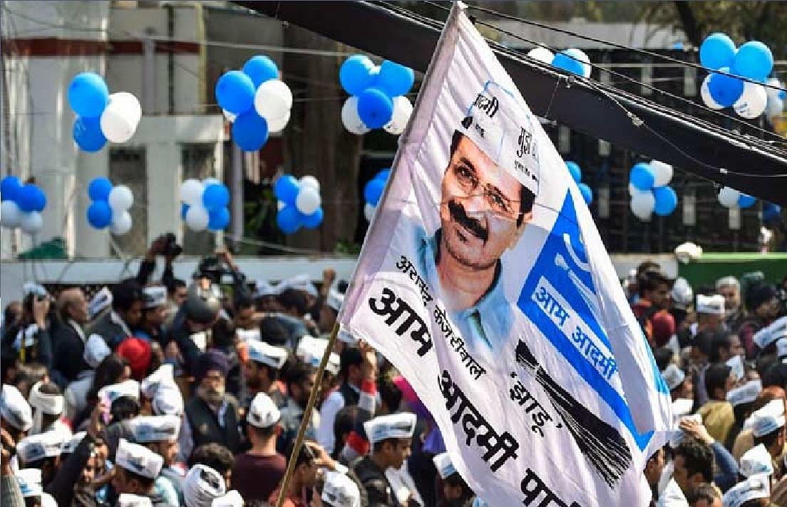 धर्मपुर विधानसभा में कांग्रेस को झटका, कई नेताओं ने थामा AAP का दामन