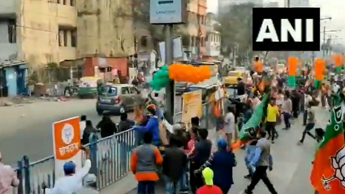 VIDEO: भाजपा की रैली पर पत्थरबाजी, शुभेंदु बोले, मिनी पाकिस्तान के लड़कों ने किया हमला, हमारे साथियों ने 'घुस के मारा'