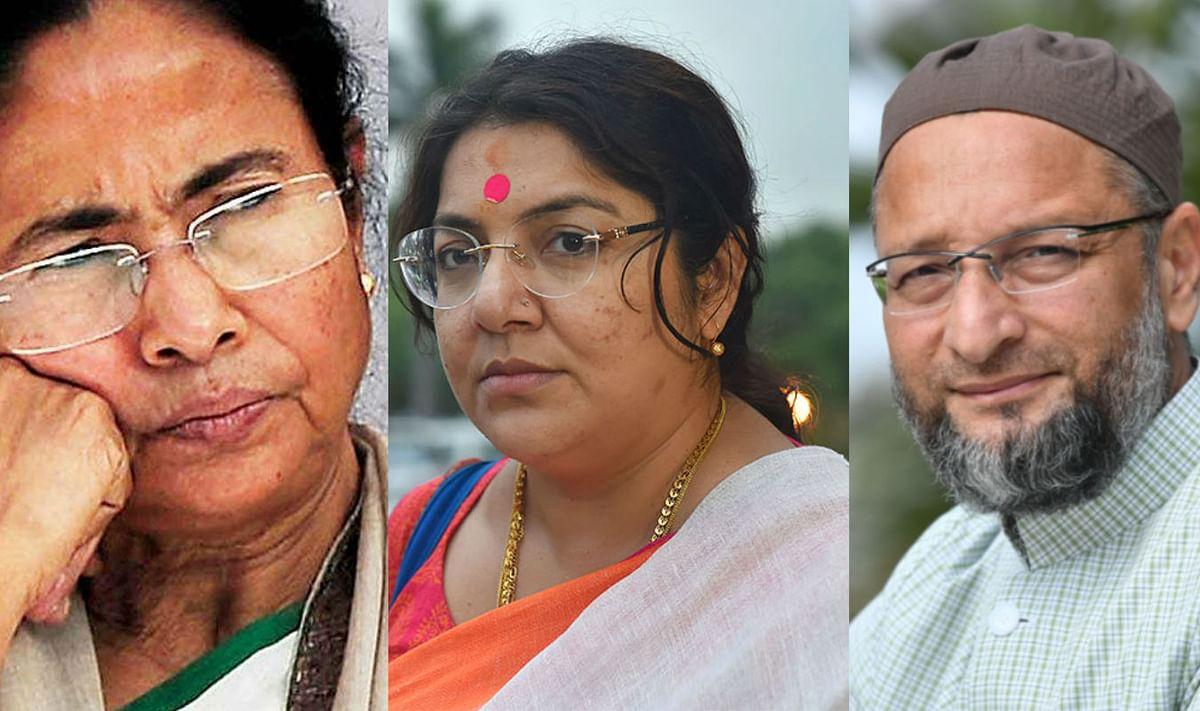 खान, कुरैशी, ओवैसी के वोट से 2021 का चुनाव जीतने का ख्वाब देख रहे थे, तृणमूल पर भाजपा का कटाक्ष