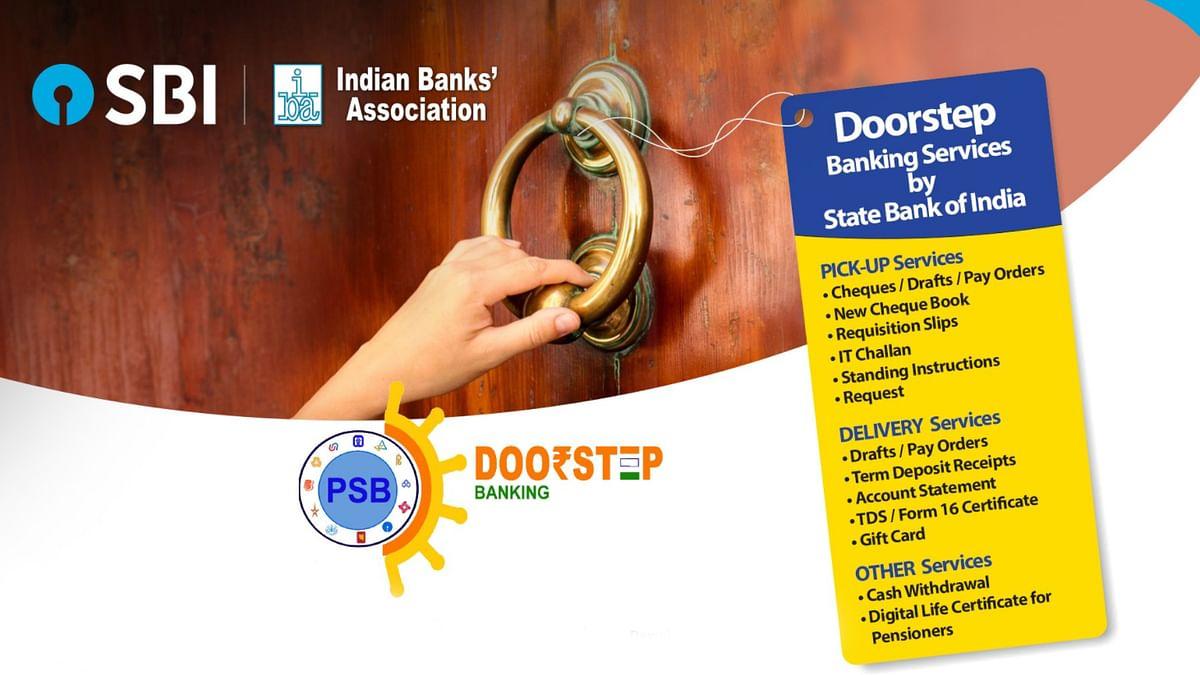 आप भी उठा सकते हैं SBI Doorstep Banking का लाभ, घर बैठे निकाल, जमा, भुगतान कर पाएंगे पैसे, मुफ्त है कई सुविधाएं, जानें पूरा प्रोसेस