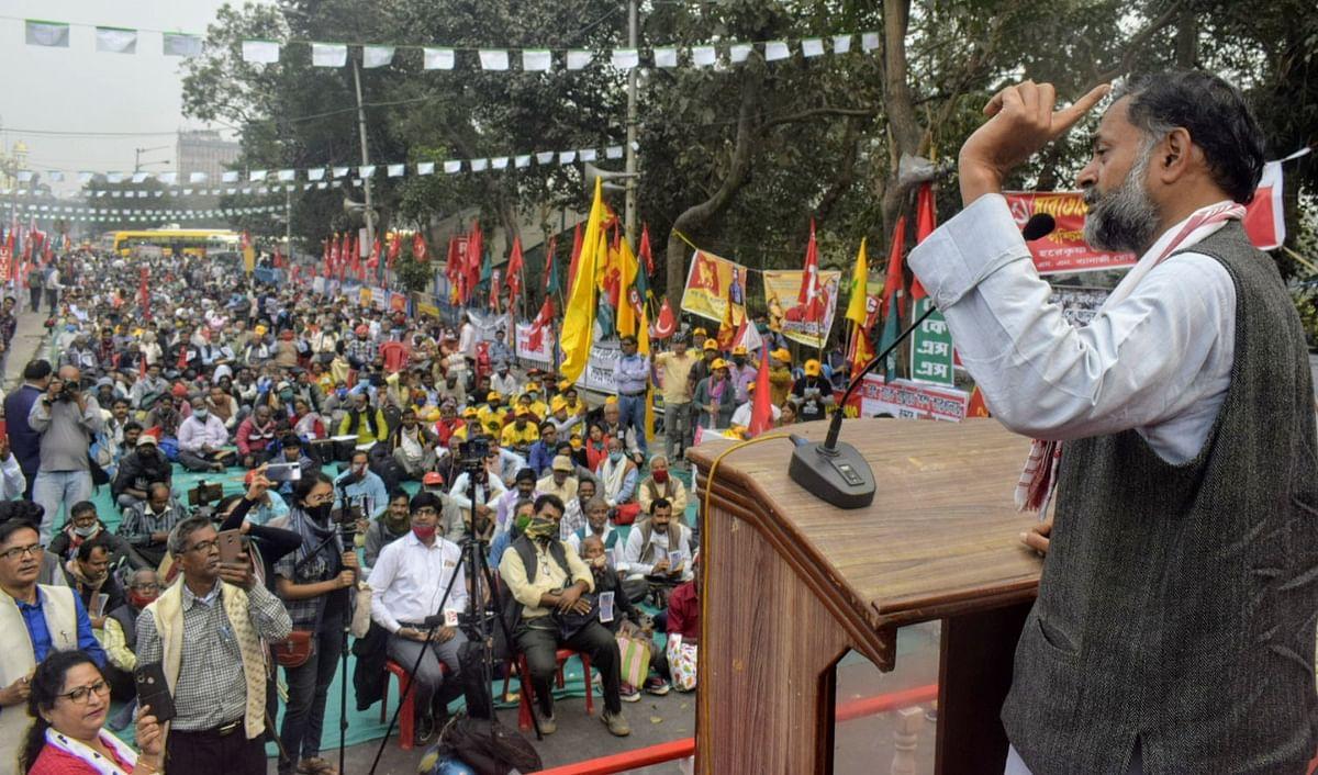 दिल्ली में राजपथ पर ऐतिहासिक ट्रैक्टर रैली करेंगे किसान : योगेंद्र यादव