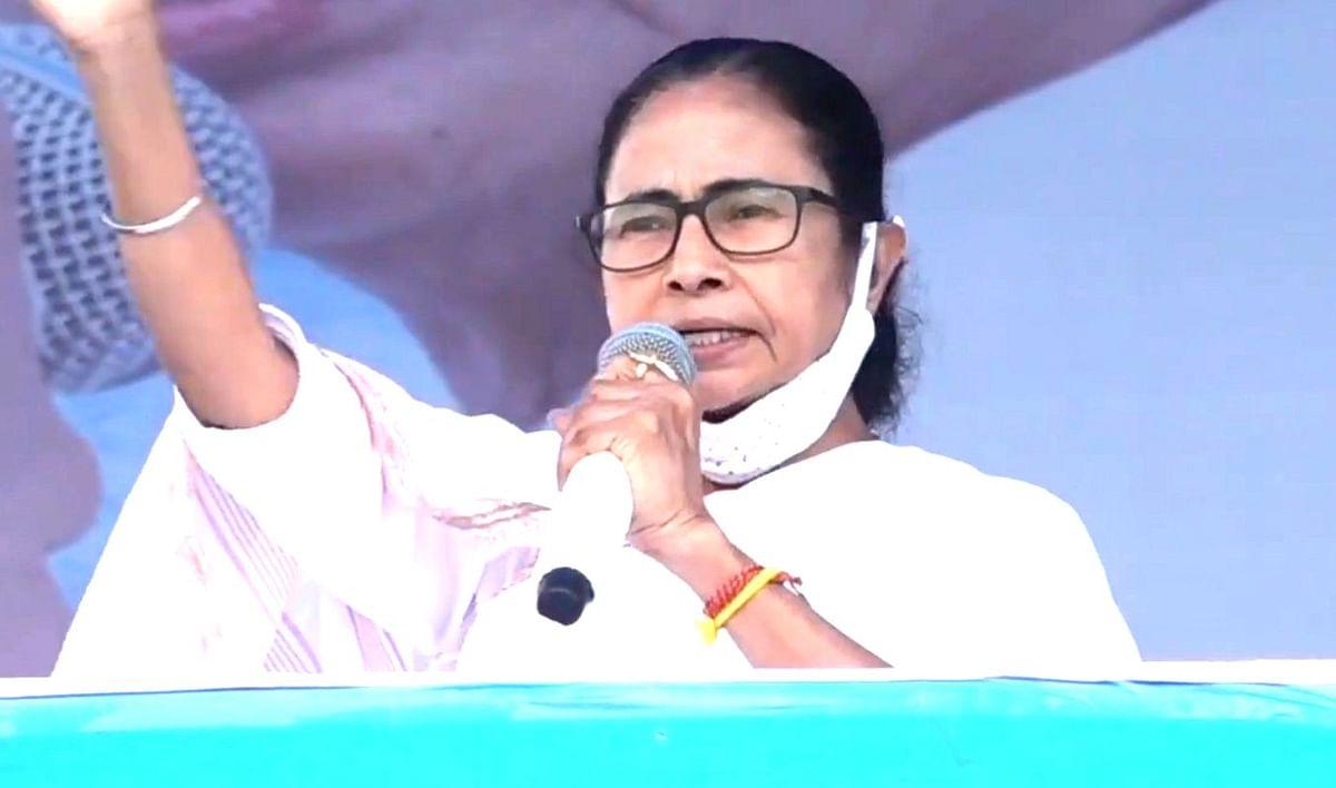 Bengal Election 2021: ममता ने नाम लिये बगैर 'पीरजादा' पर साधा निशाना,कहा- फुरफुरा शरीफ से निकला है एक गद्दार