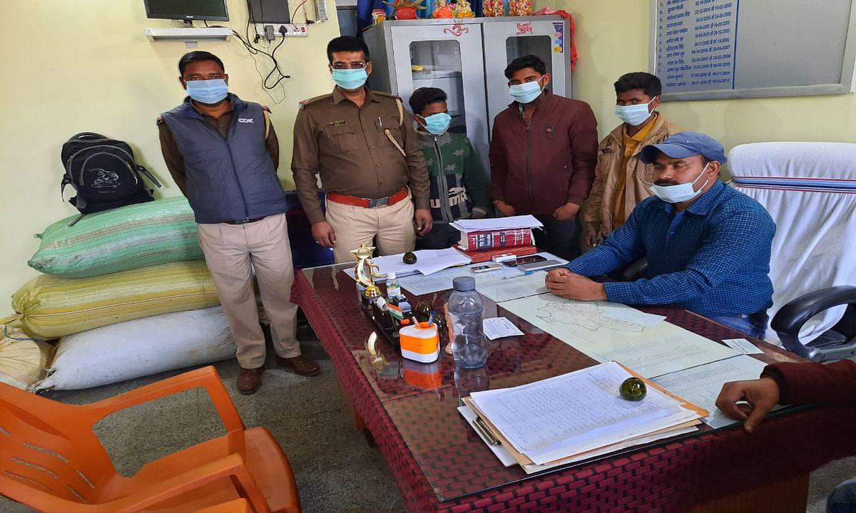 Crime News : चौपारण में लाखों का डोडा के साथ 3 तस्कर गिरफ्तार, पुलिस का बढ़ा शिकंजा