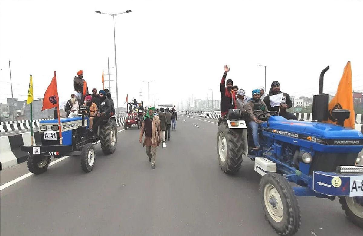 Farmer Protest : ट्रैक्टर रैली से लौट रहे आंदोलनकारियों से मारपीट, कलेक्ट्रेट में प्रदर्शन