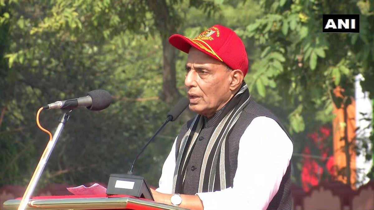 NCC परेड ग्राउंड में रक्षा मंत्री बोले- पीएम मोदी करेंगे NCC का विस्तार, युवाओं के हाथ में आत्मनिर्भर भारत का सपना