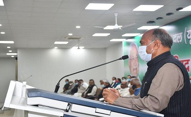 आरसीपी सिंह ने जदयू के भविष्य को लेकर किया यह दावा, वशिष्ठ नारायण ने कहा- हम धोखा देने वालों में नहीं