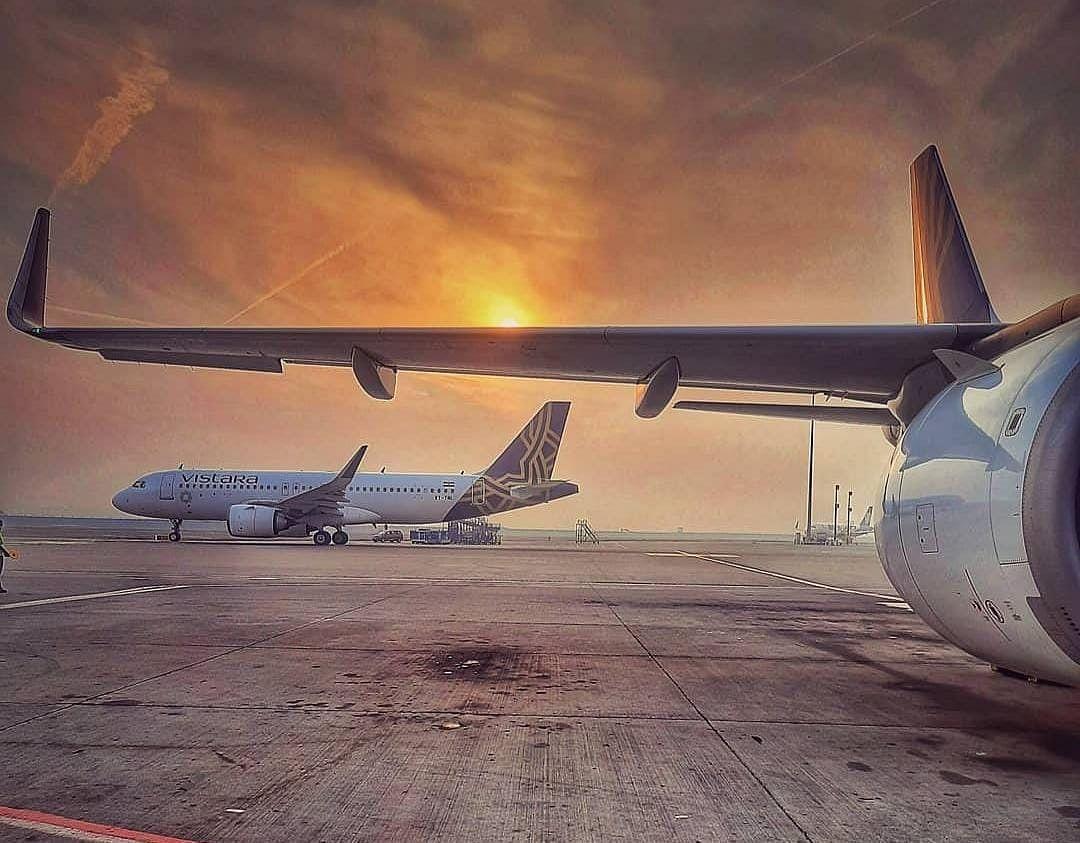 Patna Airport पर बड़ा हादसा टला, Vistara Flight से पक्षी टकराया, विमान की इमरजेंसी लैंडिंग