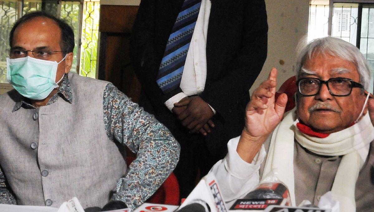 West Bengal Election 2021: कांग्रेस-लेफ्ट के बीच सीटों के बंटवारे पर नहीं बनी बात, बैठक बेनतीजा