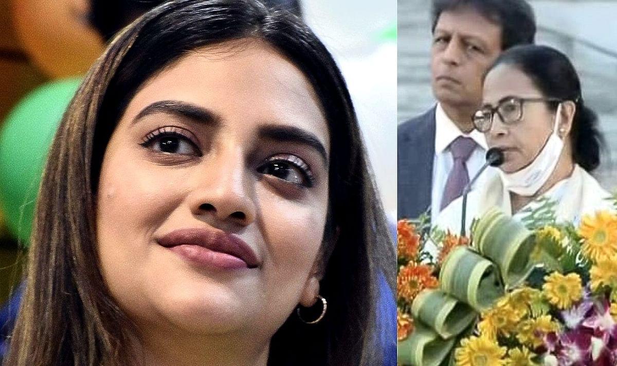 जय श्रीराम के नारे पर ममता के बाद TMC सांसद नुसरत जहां भी भड़कीं, ट्विटर पर निकाली भड़ास
