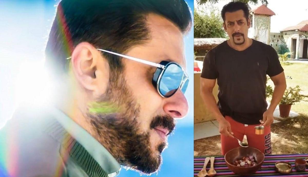 Salman Khan ने बनाया प्याज का अचार, Video में देखें रेसिपी
