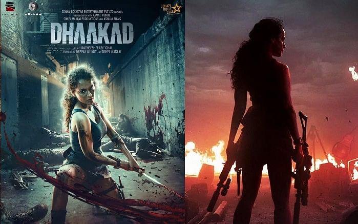 Kangana Ranaut की 'धाकड़' की रिलीज डेट हुई फाइनल, नए पोस्टर में एक्शन अवतार में दिखी एक्ट्रेस