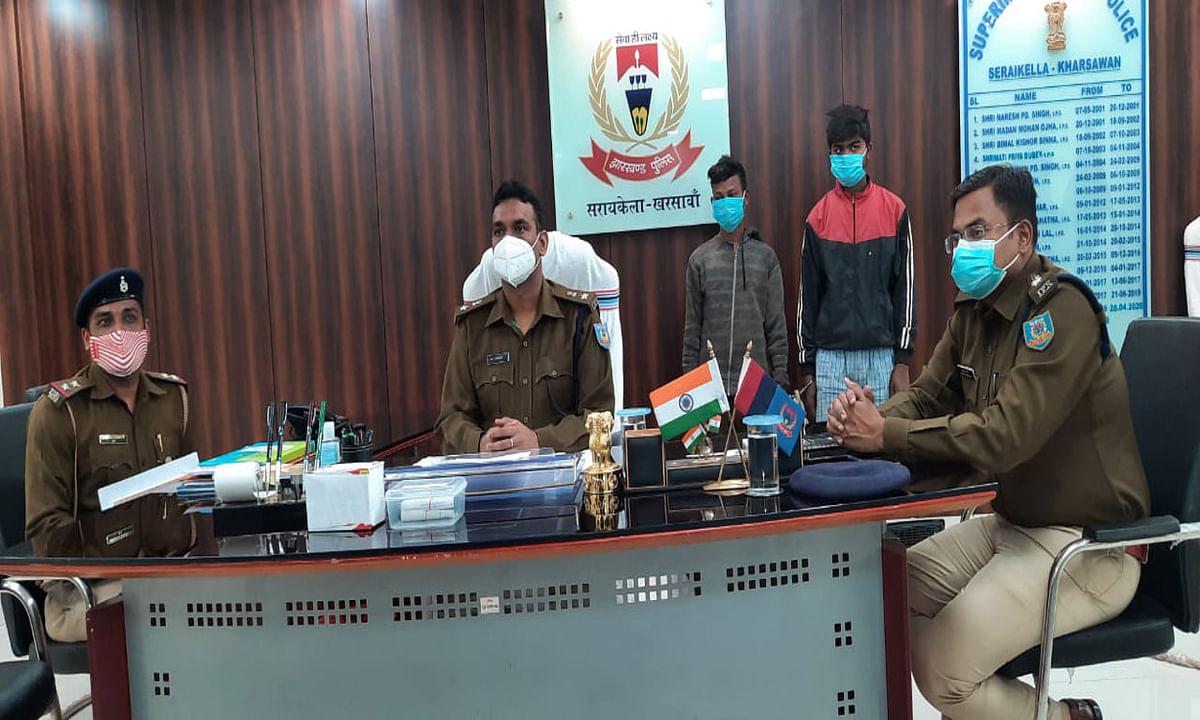 विक्षिप्त हत्या मामले में सरायकेला पुलिस ने 2 आरोपी को किया गिरफ्तार, खुले राज