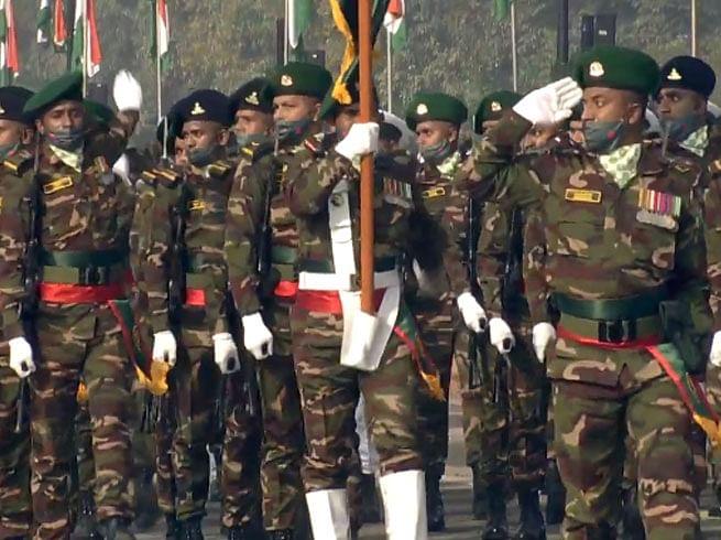 Republic Day Parade: पहली बार गणतंत्र दिवस परेड में नजर आई बांग्लादेश की सैन्य टुकड़ी, 1971 में मदद के लिए भारत को धन्यवाद