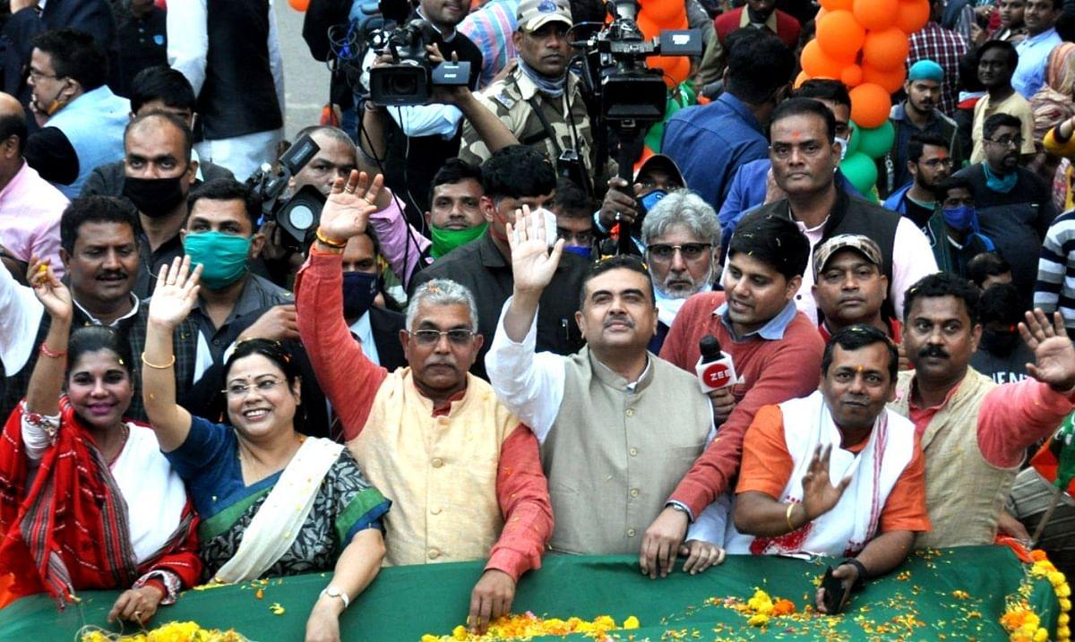 Mamata Vs Suvendu: नंदीग्राम में ममता को 50 हजार वोटों से नहीं हराया, तो राजनीति छोड़ दूंगा, कोलकाता में बोले शुभेंदु अधिकारी
