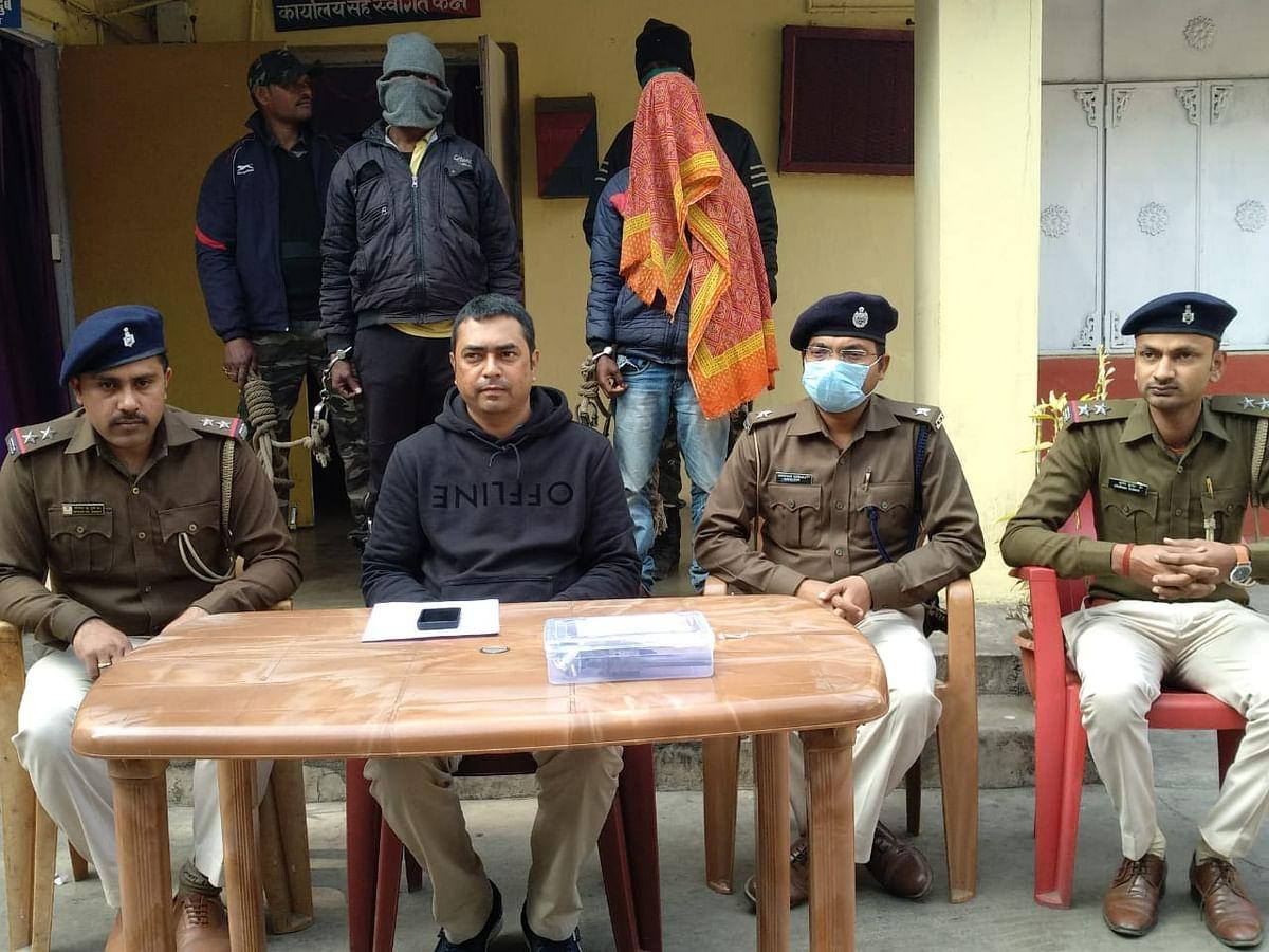 Jharkhand Naxal Breaking News : झारखंड में नक्सली संगठन टीएसपीसी का कमांडर समेत दो हथियार के साथ गिरफ्तार, चतरा पुलिस ने भेजा जेल