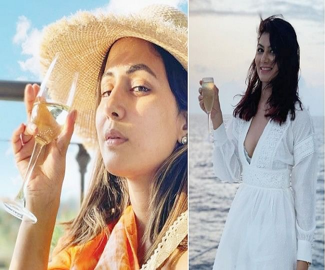 Kumkum Bhagya की 'प्रज्ञा' का समंदर किनारे बोल्ड अंदाज, 'तूफानी सीनियर' हिना खान का ऑरेंज ड्रेस में किलर लुक, VIRAL PHOTOS