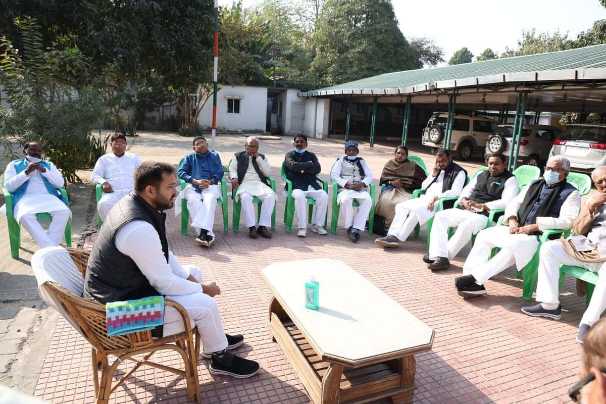 Bihar Politics: खरमास खत्म होने से पहले एक्शन मोड में तेजस्वी यादव, RJD नेताओं के साथ बैठक कर बनाया ये प्लान