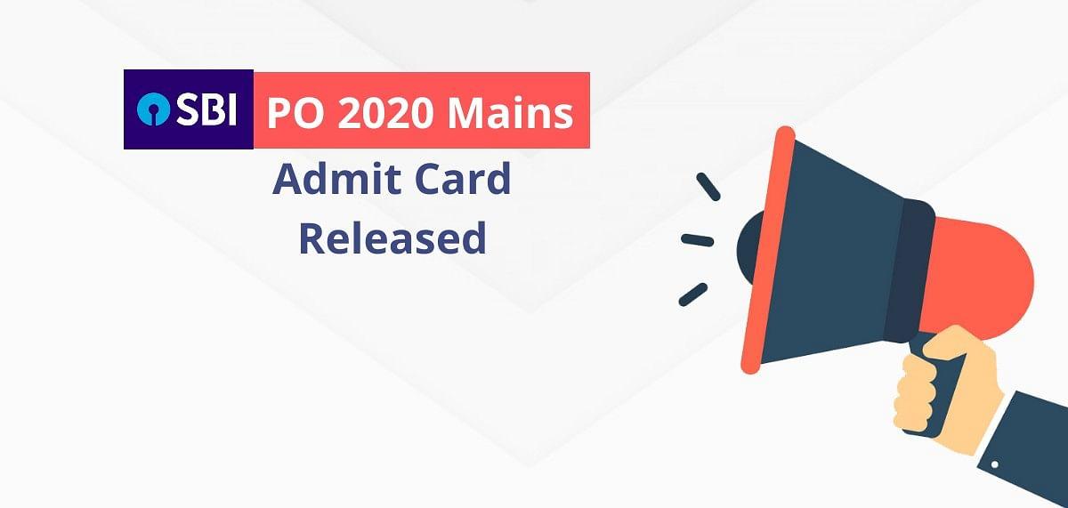 SBI PO Mains Admit Card 2021 Out: स्टेट बैंक ने जारी किया मेंस परीक्षा का एडमिट कार्ड, यहां देखें प्रवेश पत्र डाउनलोड़ करने का लिंक