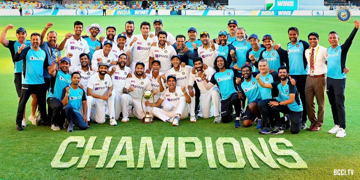 IND vs AUS : गाबा में ऑस्ट्रेलिया की 32 वर्षों की बादशाहत खत्म, टीम इंडिया ने लगायी रिकॉर्डों की झड़ी