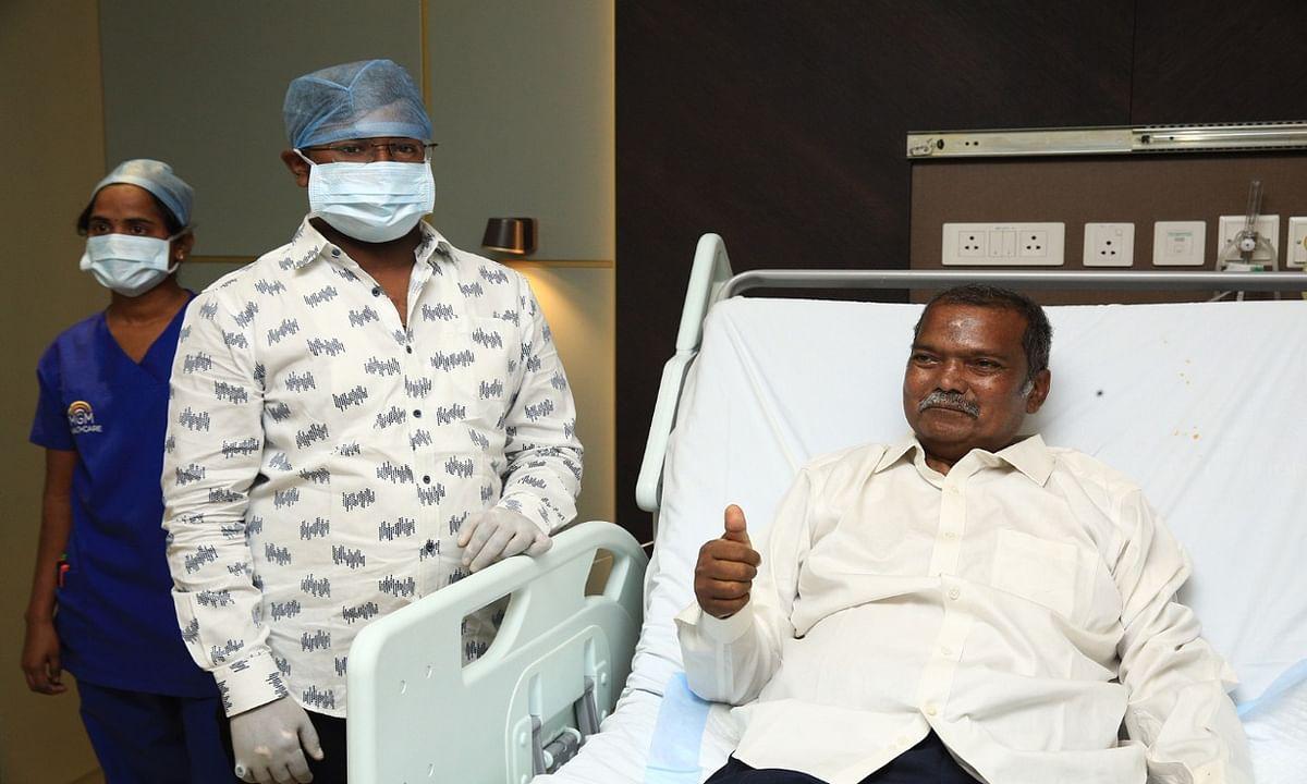 Jagarnath Mahto Health Update: झारखंड के शिक्षा मंत्री जगरनाथ महतो हुए स्वस्थ, बहुत दिनों बाद दिखी चेहरे पर मुस्कान