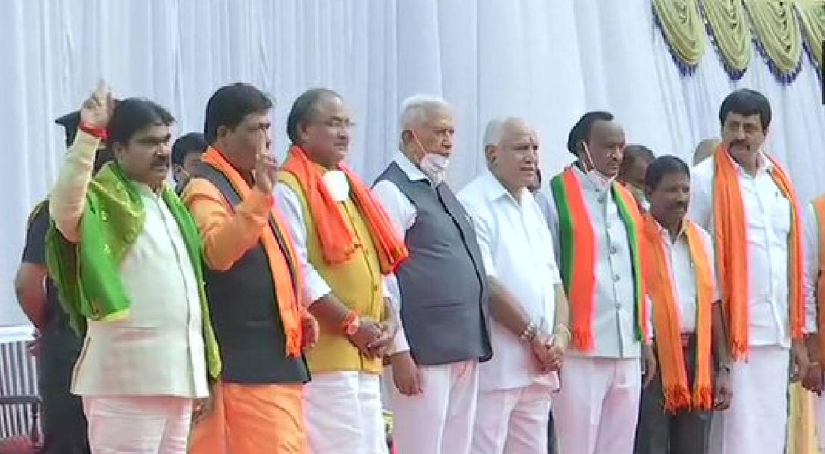 Karnataka Cabinet Expansion : कर्नाटक में कैबिनेट विस्तार, येदियुरप्पा सरकार में 7 नये चेहरे