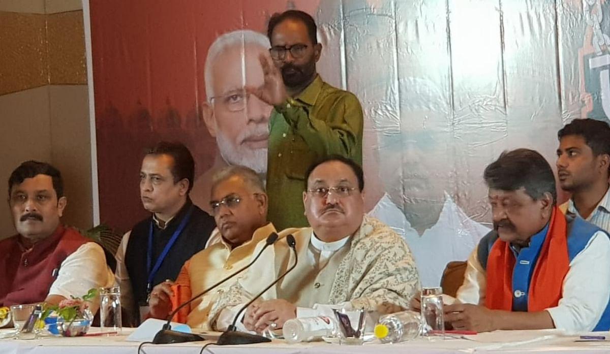भाजपा ही करती है बांग्ला संस्कृति का प्रतिनिधित्व, बर्दवान में बोले जेपी नड्डा