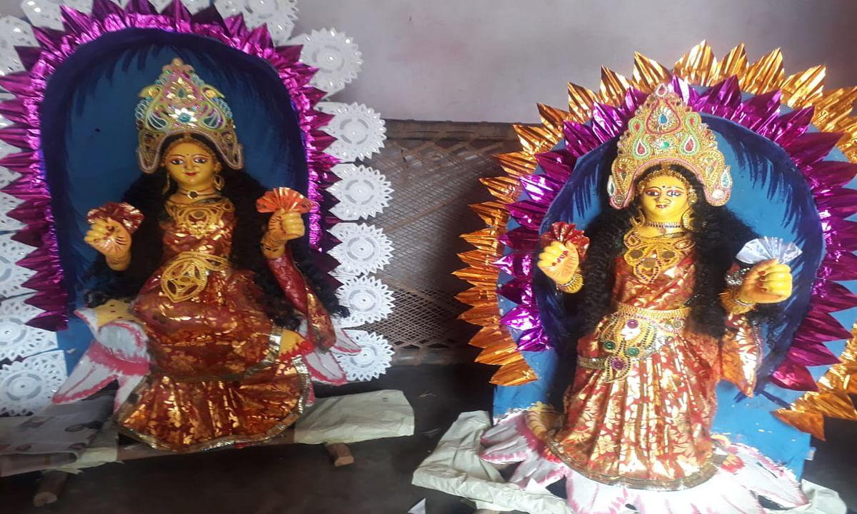 Tusu Festival in Jharkhand : कोल्हान में टुसूमनी की प्रतिमा व चौड़ल तैयार, टुसू गीतों पर थिरकेंगे लोग