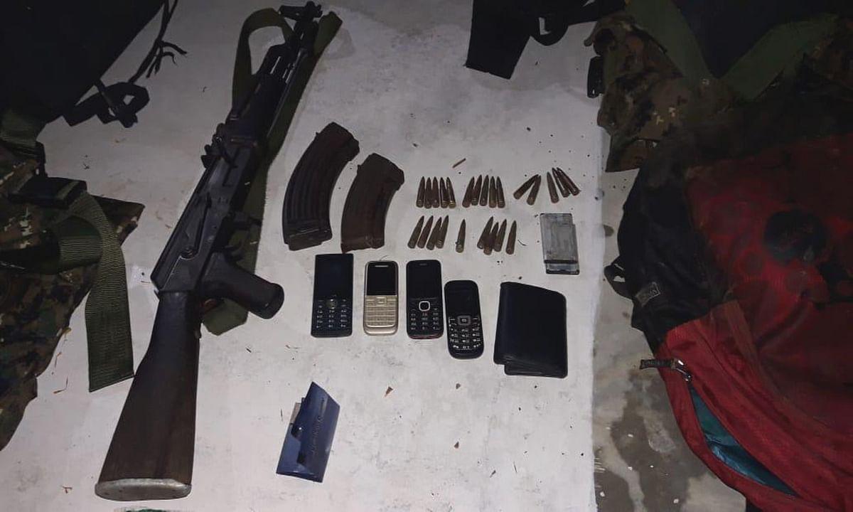 मनातू में पुलिस और नक्सलियों के बीच मुठभेड, AK- 47 समेत 3 नक्सली गिरफ्तार