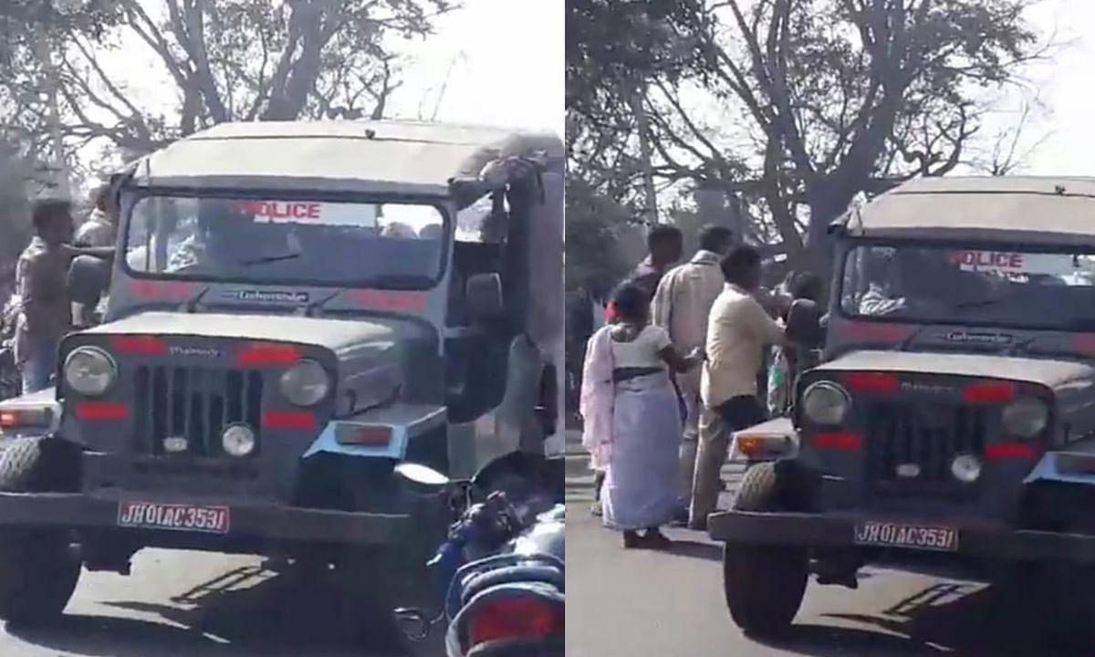 निरसा में पुलिस टीम पर हमला, गिरफ्तार वारंटी को जबरन छुड़ा ले गये ग्रामीण