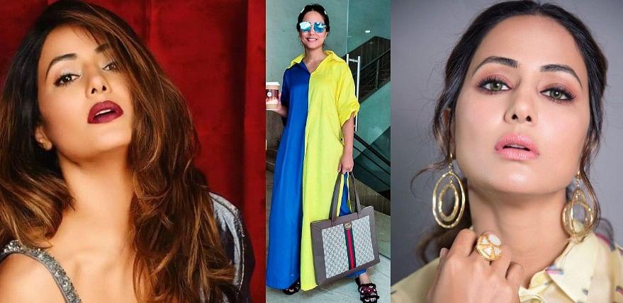 Naagin एक्ट्रेस Hina Khan दिखीं Gucci बैग के साथ, कीमत एक बाइक के बराबर