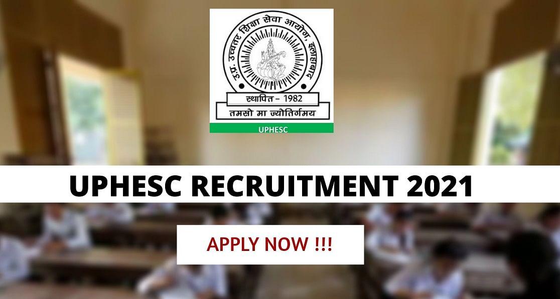 UPHESC Recruitment 2021: उत्तर प्रदेश उच्चतर शिक्षा सेवा आयोग कर रहा है 2,000 से ज्यादा पदों पर नियुक्ति, यहां देखें आवेदन से जुड़ी हर डिटेल