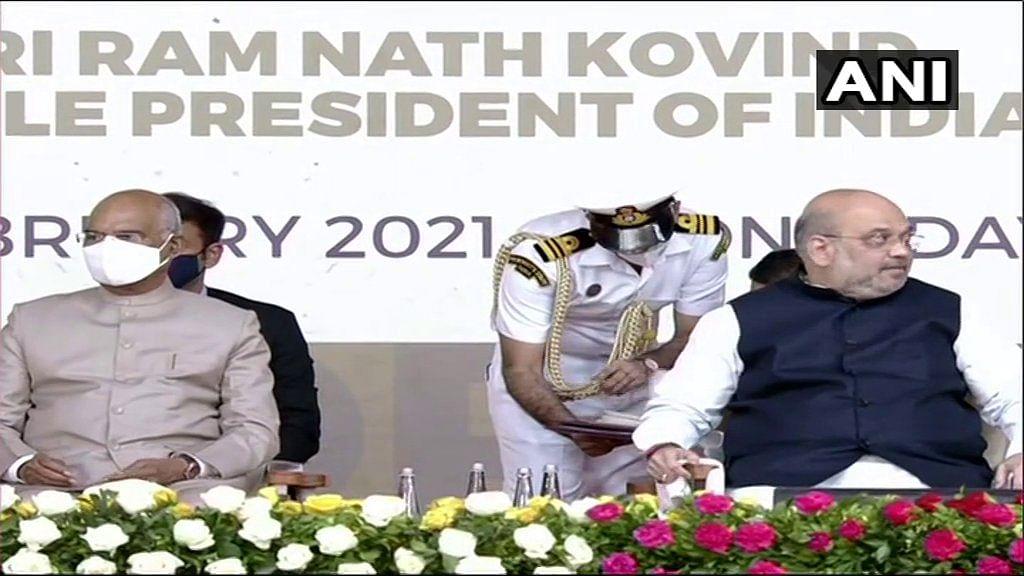India vs England: अब नरेंद्र मोदी स्टेडियम के नाम से जाना जायेगा दुनिया का सबसे बड़ा स्टेडियम मोटेरा, राष्ट्रपति ने किया उद्घाटन