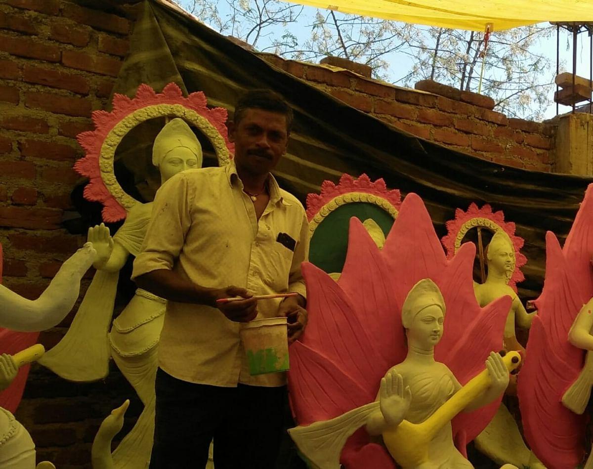 Basant Panchami 2021 : सरस्वती पूजा को लेकर मां की प्रतिमाओं की बाजार में कितनी है डिमांड, पढ़िए कोरोना काल में मूर्तिकारों की क्या है पीड़ा