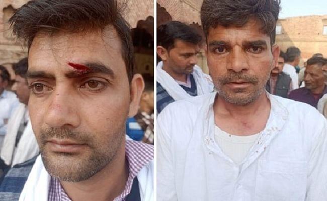 मुजफ्फरनगर: किसानों और बीजेपी कार्यकर्ताओं के बीच हिंसक झड़प में कई घायल, मंत्री के विरोध के बाद बिगड़ा मामला, इलाके में तनाव