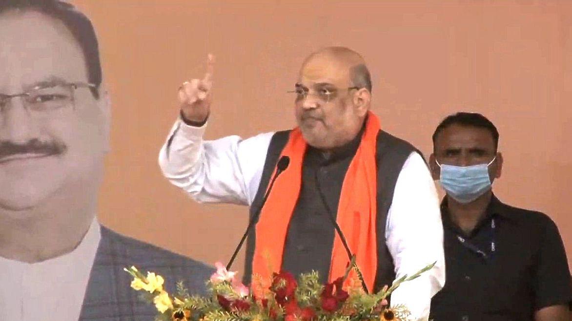 Assam Elections 2021: अमित शाह ने असम में की कांग्रेस नेता की तारीफ, कहा - मोदी सरकार ने दिया उन्हें सम्मान