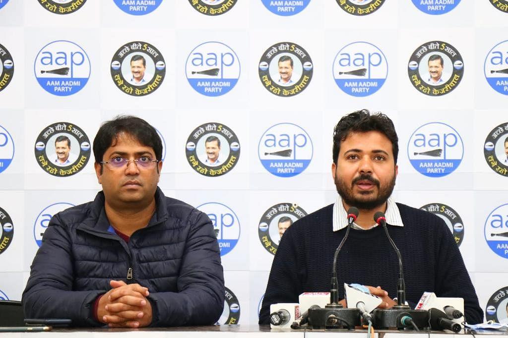 AAP ने भाजपा दिल्ली इकाई को बताया भ्रष्ट, कहा - इसलिए एमसीडी को मोदी सरकार ने बजट में नहीं दिया पैसा