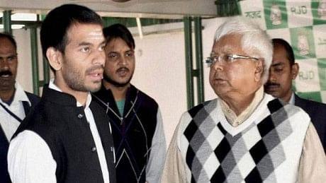 RJD प्रदेश अध्यक्ष जगदानंद  सिंह पर Tej Paratp Yadav के बिगड़े बोल का लालू यादव ने लिया संज्ञान, क्या होगी कोई कार्रवाई?