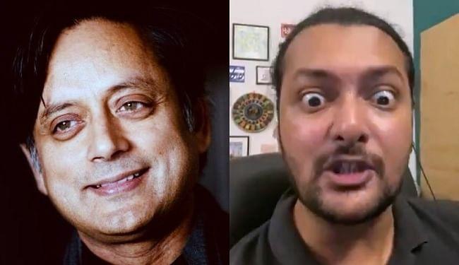 पाकिस्तान के स्टैंडिंग कॉमेडियन ने की शशि थरूर की मिमिक्री, कांग्रेस नेता ने कहा- अगला वीडियो इमरान खान पर बनाएं