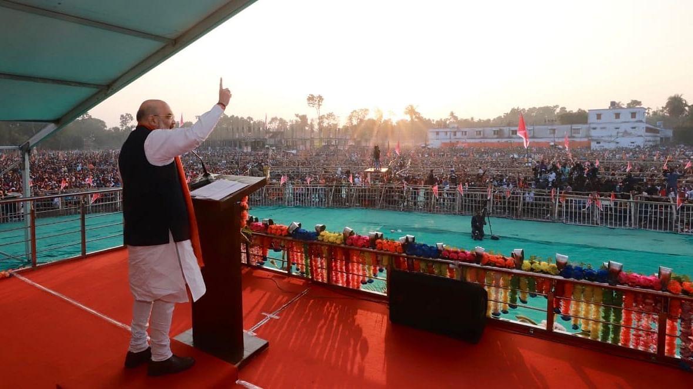बंगाल में अमित शाह ने मतुआ समुदाय से किया बड़ा वादा