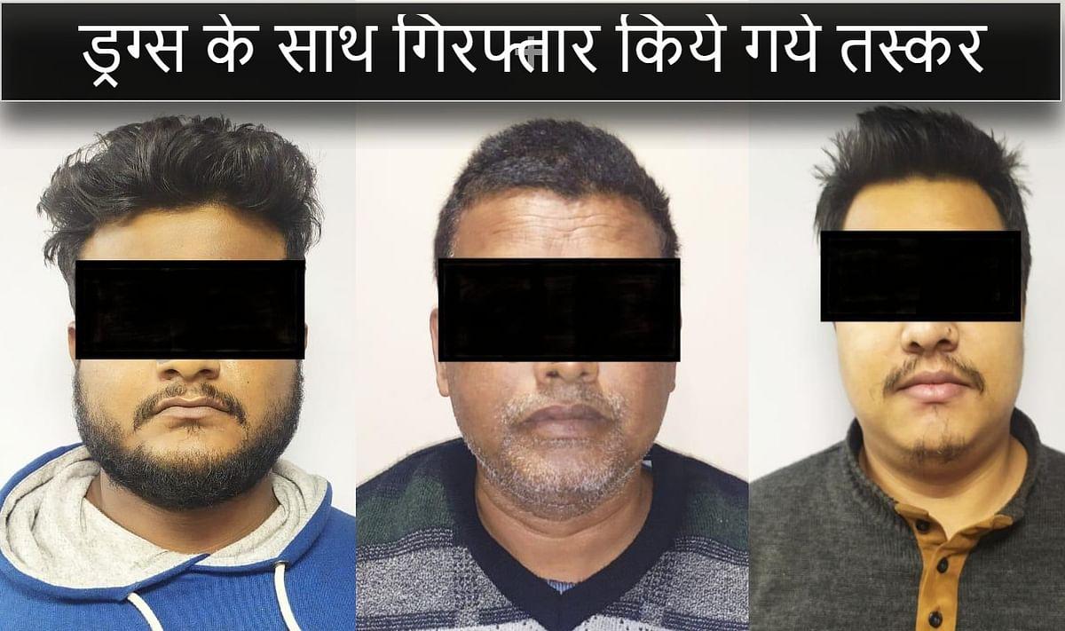 कोलकाता के काशीपुर से गिरफ्तार किये गये तस्कर.