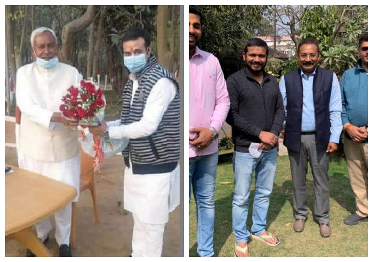 Bihar Politics: BJP के 'चिराग' के जवाब में JDU का 'कन्हैया'? जेएनयू के पूर्व छात्रनेता की अशोक चौधरी से मुलाकात के बाद अटकलें तेज