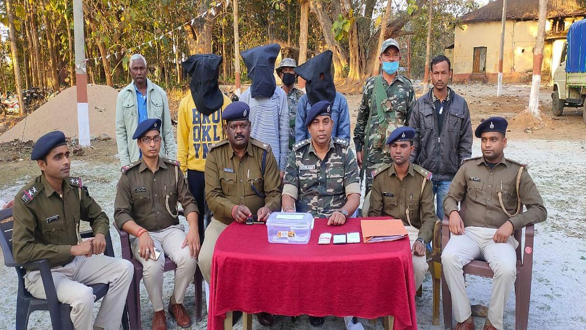 Jharkhand Crime News : रांची के होटवार जेल से PLFI कमांडर मांग रहे लेवी, गुमला में नक्सली समेत उसके सहयोगी की गिरफ्तारी से हुआ खुलासा