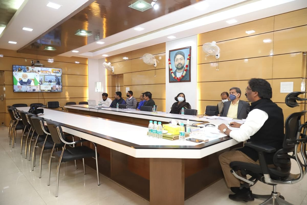 Jharkhand News : नीति आयोग की गवर्निंग काउंसिल की बैठक में सरना आदिवासी धर्म कोड, वृद्धा पेंशन और मनरेगा मजदूरी पर क्या बोले मुख्यमंत्री हेमंत सोरेन