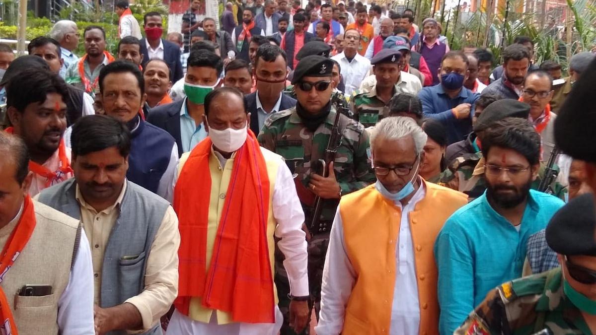 Jharkhand News : चतरा के इटखोरी पहुंचे झारखंड के पूर्व सीएम रघुवर दास, बोले-बीजेपी सरकार की जल्द होगी वापसी