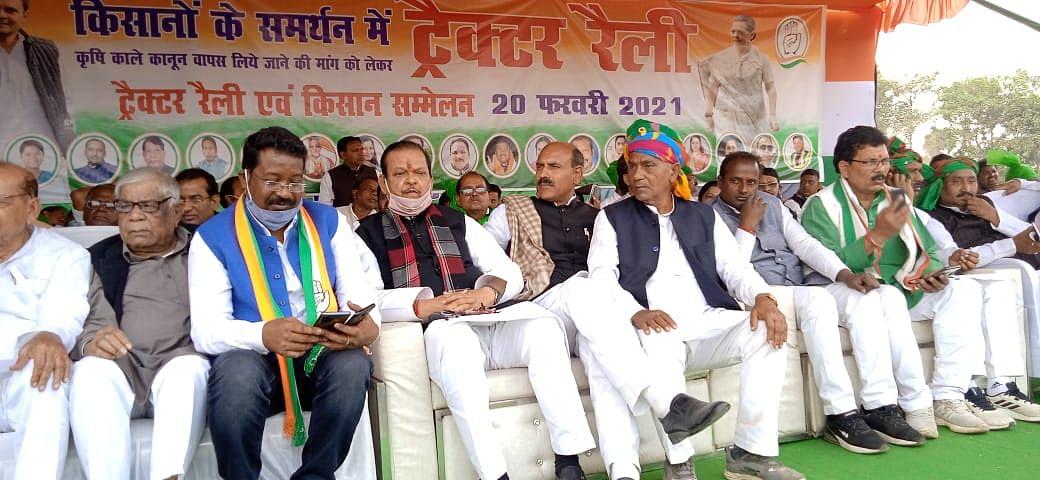 Jharkhand News : ट्रैक्टर रैली में महंगाई के बहाने पीएम मोदी पर बरसे कांग्रेस के झारखंड प्रभारी आरपीएन सिंह, पूछा-क्या डीजल की कीमत बढ़ाकर बढ़ेगी किसानों की आय