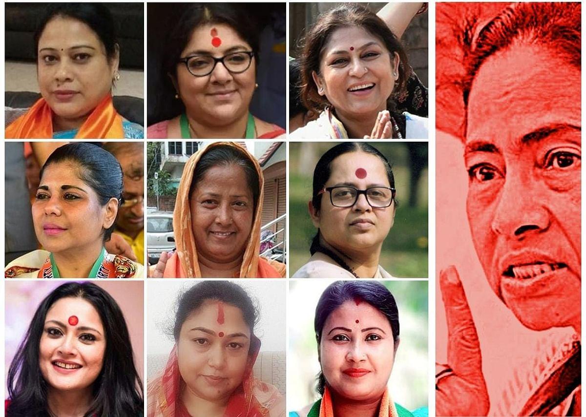 Bengal Chunav 2021 : ममता बनर्जी के मुकाबले BJP किस बेटी को बनाएगी सीएम कैंडिडेट? बंगाल में पोस्टर वार पर तृणमूल कांग्रेस का सवाल