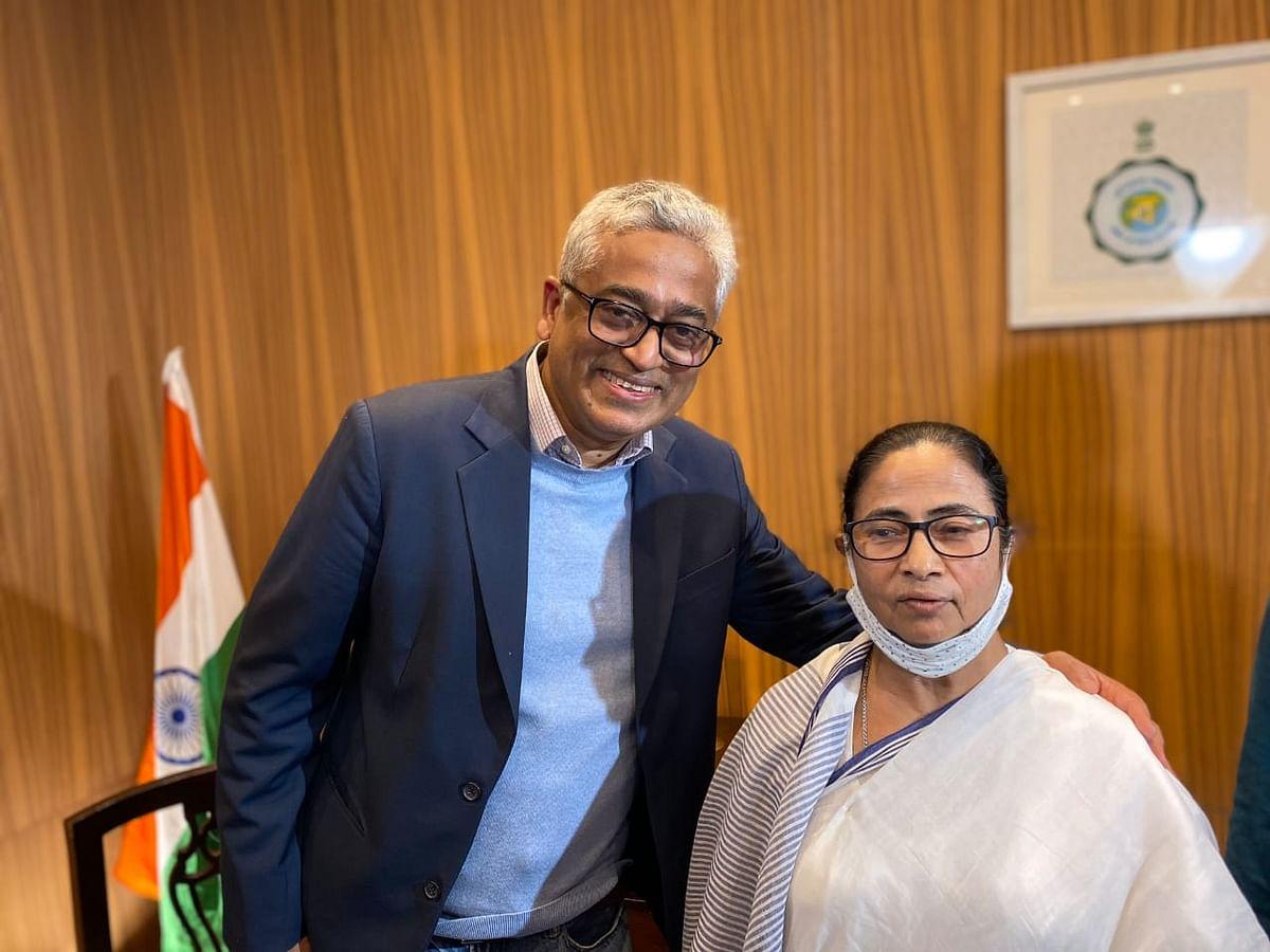 Bengal Chunav 2021 : मोदी सरकार पर सीएम ममता का हमला- 'Rajdeep Sardesai ने मेरा इंटरव्यू लिया, तो अगले दिन उसकी नौकरी चली गयी, ये लोकतंत्र नहीं'